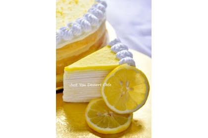 Lemon Cheese Mille Crepe