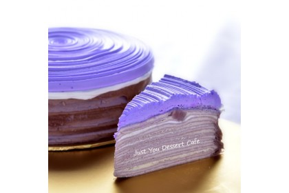 Yam Mille Crepe