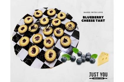 Mini Blueberry Cheese / Fruits Tart (40pc)