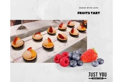 Mini Blueberry Cheese / Fruits Tart (100pc)