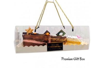 New French Slice Cake Gift Box
