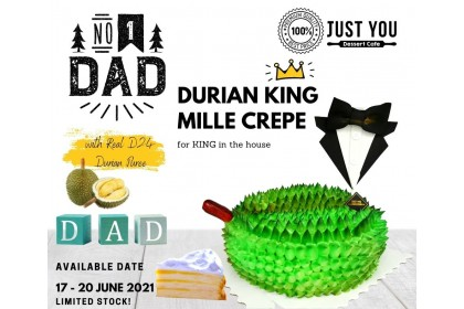Durian KING Mille Crepe [Father's Day Special]